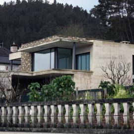 Vivienda unifamiliar de diseño en la provincia de Orense